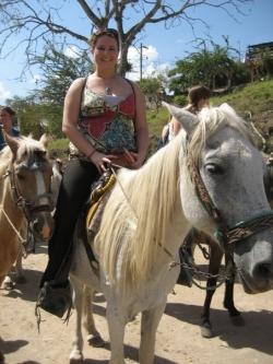 Christina-horse