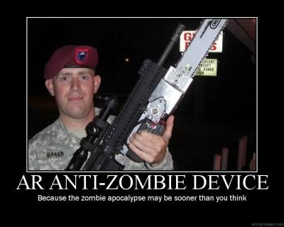 Zombie-poster